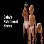 4 Main Types of Nutritional Requirements for Babies